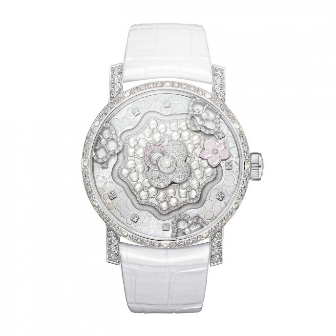 Chaumet Hortensia Complication creative watch face view