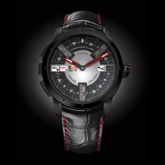 Christophe Claret Poker Watch-face-view