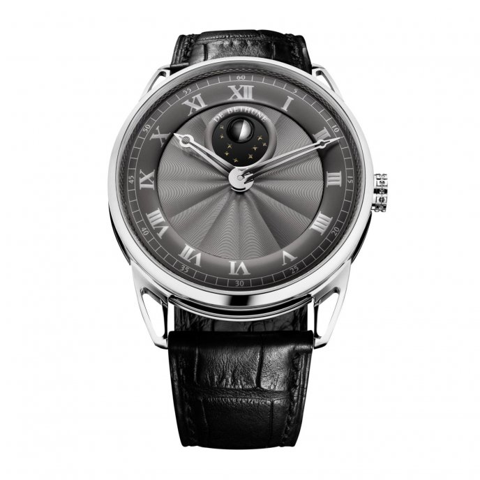 De bethune DB25L Black DB25LWS8V1 - watch face view