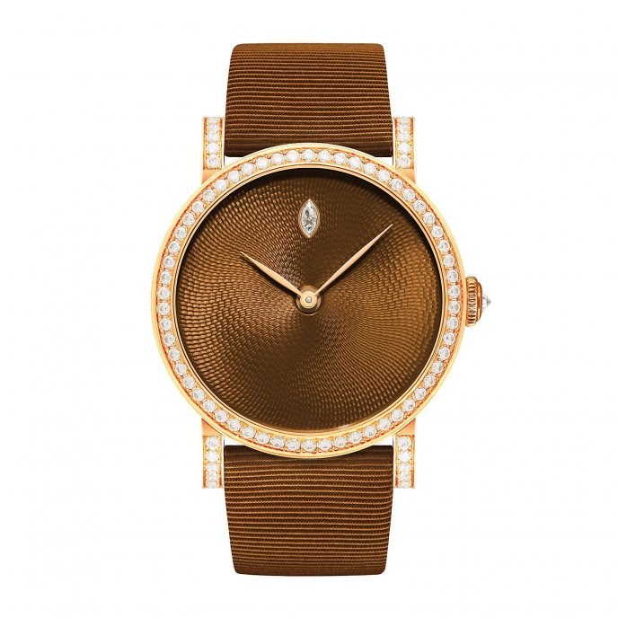 Delaneau Rondo Translucent Sweet Chestnut Watch-face-view