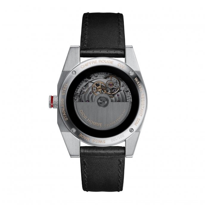 Dior Chiffre Rouge C03 CD084C11A003 - watch back view