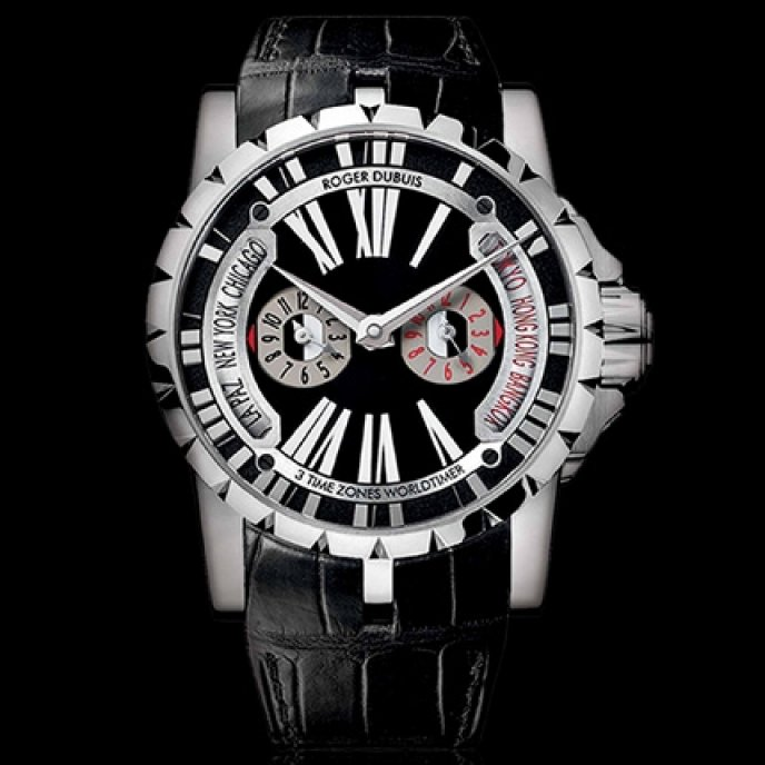 Roger Dubuis - Heure Universelle