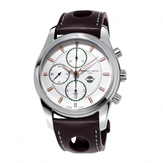 Frédérique Constant Vintage Rally Healey Chronograph FC-392HVG6B6 watch-face-view