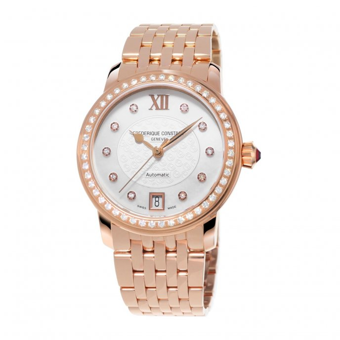 Frédérique Constant Ladies Automatic World Heart Federation FC-303WHF2PD4B3 watch-face-view