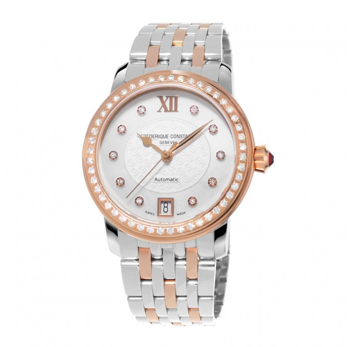 Frédérique Constant Ladies Automatic World Heart Federation FC-303WHF2PD2B3 watch-face-view