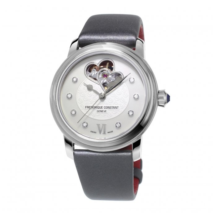 Frédérique Constant Ladies Automatic World Heart Federation FC-310WHF2P6 watch-face-view
