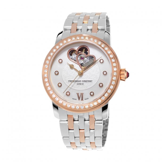 Frédérique Constant Ladies Automatic World Heart Federation FC-310WHF2PD2B3 watch-face-view
