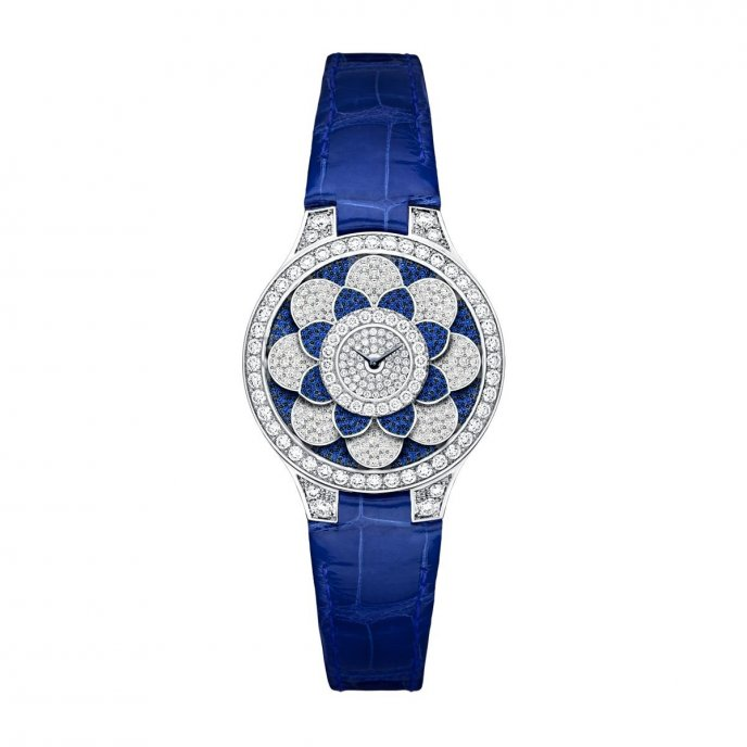 Graff Jewellery Graff Icon Sapphire Watch Front View