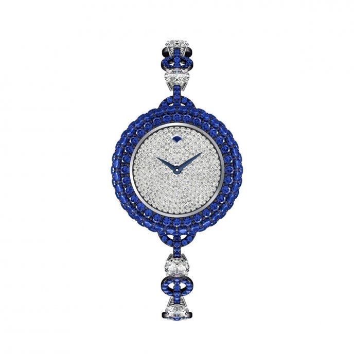 Graff Jewellery Halo Watch 25MM Sapphire Watch Front View