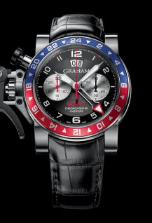 Oversize GMT Blue & Red