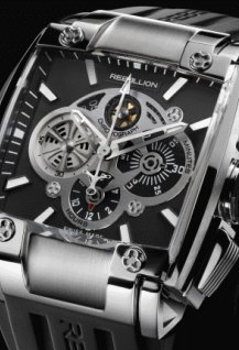 RE-1 Chronograph Stainless steel