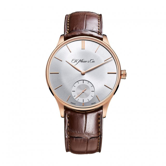 H. Moser and Cie Venturer Small Seconds 2327-0400 Watch-face-view