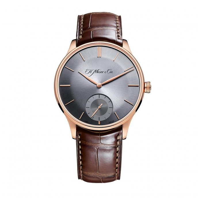 H. Moser and Cie Venturer Small Seconds 2327-0402 Watch-face-view