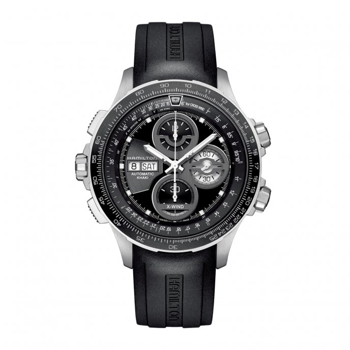 Hamilton Khaki X-Wind Limited Edition - watch face view