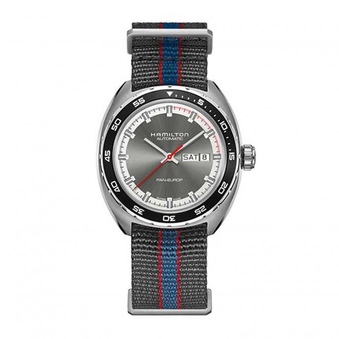 Hamilton Pan Europ h35405941 - watch face view
