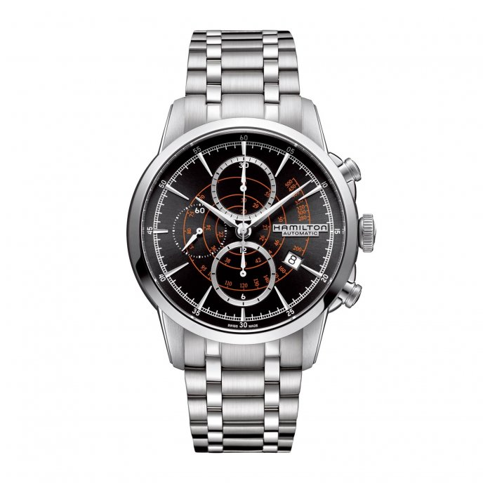 Hamilton Rail Road Auto Chrono H40656131 Watch-face-view