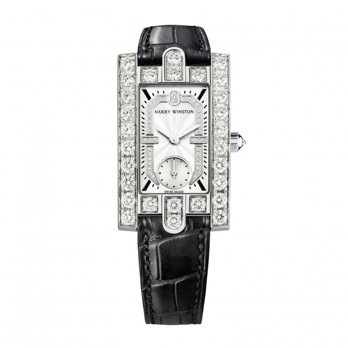 Harry Winston Avenue Classic Watch-face-view