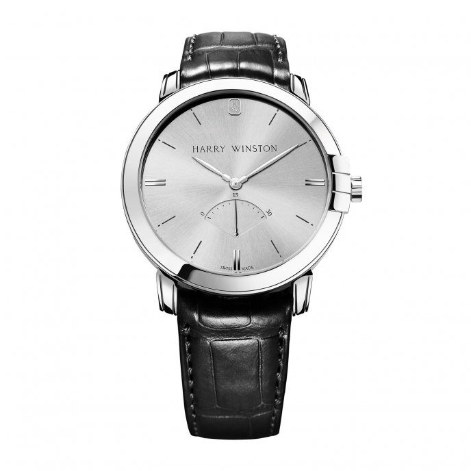 Harrry Winston Midnight Retrograde Second Automatic 42mm Watch-face-view