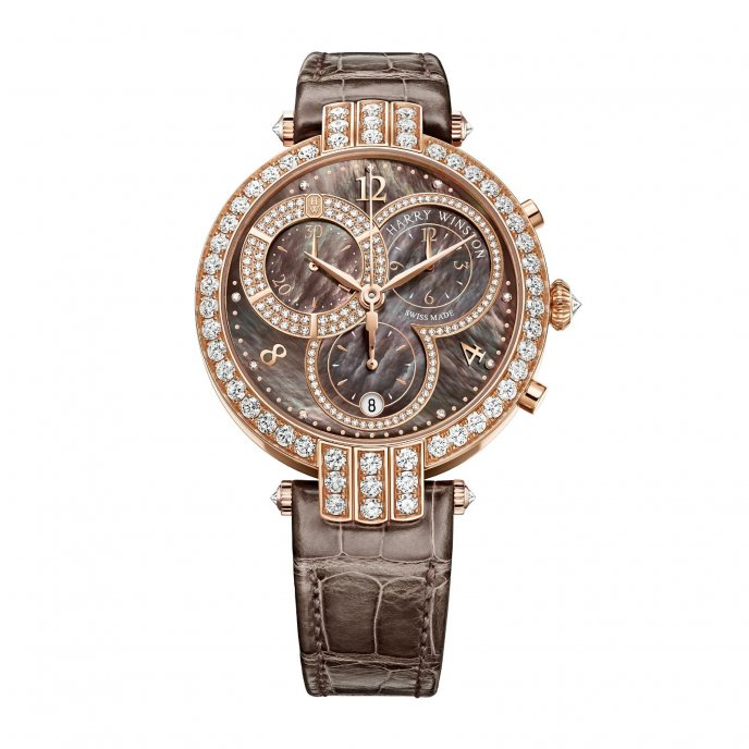 Harry Winston Premier Chronograph 40mm Watch-face-view