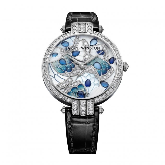Harry Winston Premier Precious Marquetry Watch-face-view