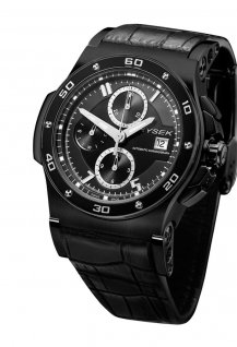 44mm Chronograph black PVD