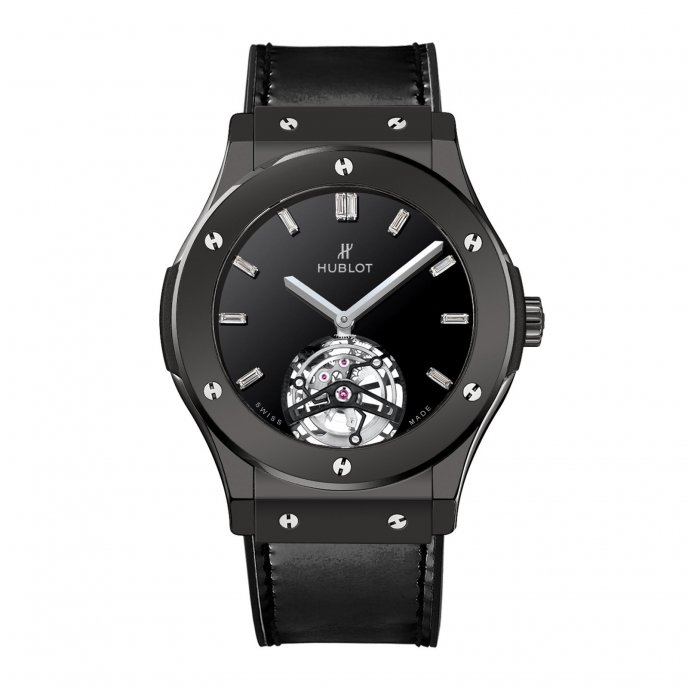 Hublot Classic Fusion Tourbillon Night-Out Watch-face-view
