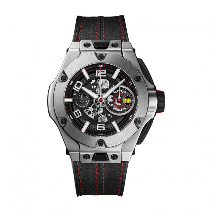 hublot big bang big bang ferrari titane worldtempus. Black Bedroom Furniture Sets. Home Design Ideas