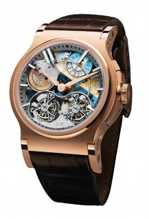 Verdict 46mm Double Tourbillon Automatique