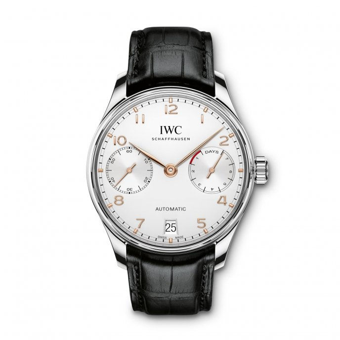 IWC Portugaise Automatic IW500704 watch face view