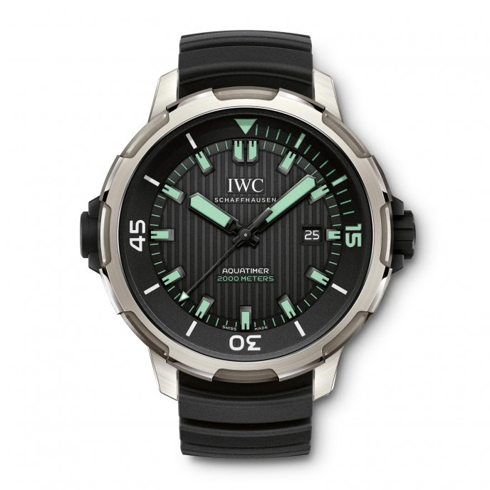 IWC Aquatimer Automatic 2000 IW358002 - watch face view