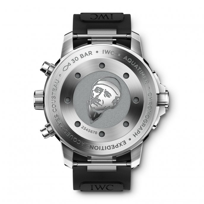IWC Aquatimer Chronographe Edition « Expédition Jacques-Yves Cousteau » IW376805 - watch back view