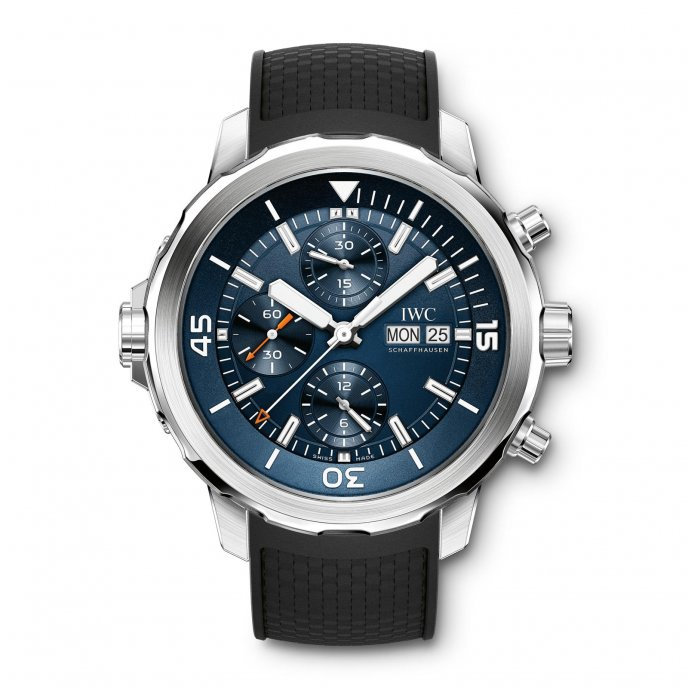 IWC Aquatimer Chronographe Edition « Expédition Jacques-Yves Cousteau » IW376805 - watch face view