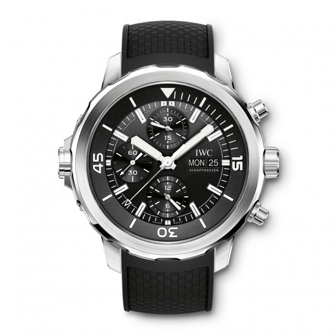 IWC Aquatimer Chronographe IW376803 - watch face view