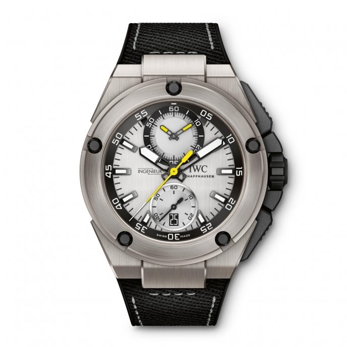 IWC Ingenieur Chronographe Edition Nico Rosberg watch-face-view
