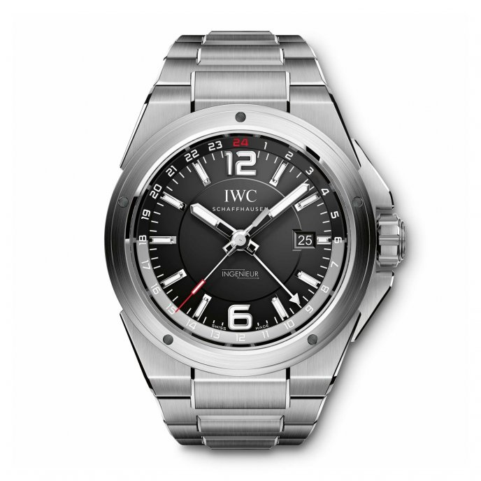 IWC Ingenieur Dual Time IW324402 - watch face view