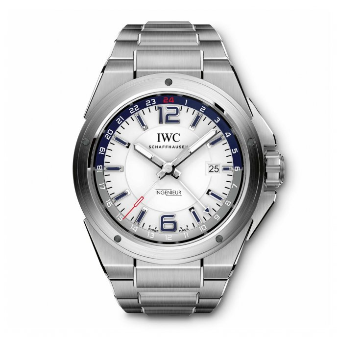 IWC Ingenieur Dual Time IW324404 - watch face view