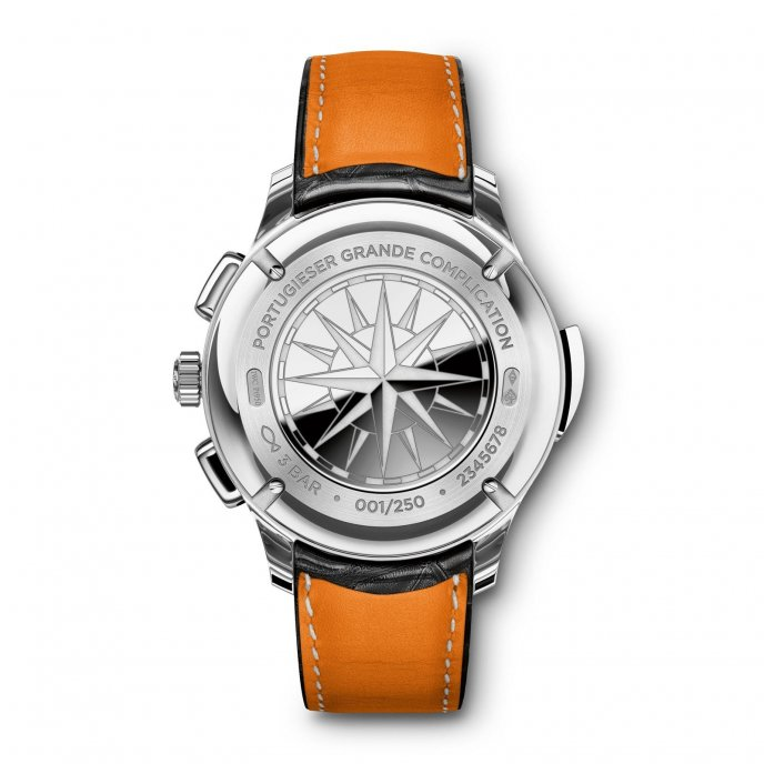 IWC Portugaise Grande Complication IW377601 watch back view