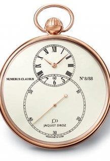 The Pocket Watch Ivory Enamel