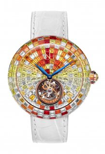 Brilliant Flying Tourbillon Arlequino Sunset