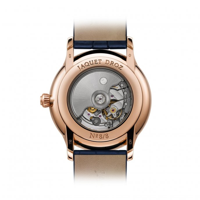 Jaquet Droz Grande Seconde Paillonnée J003033391 - watch back view