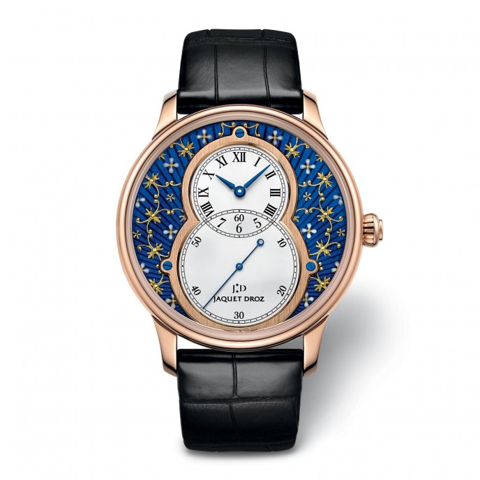Jaquet Droz Grande Seconde Paillonnée J003033391 - watch face view