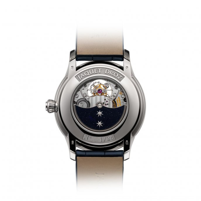Jaquet Droz Grande Seconde Tourbillon Aventurine Watch-back-view