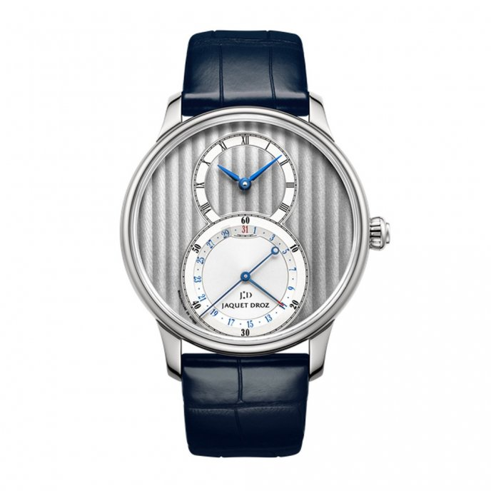 Jaquet-Droz-legend-Geneva-grande-seconde-quantieme-J007010240-face-view