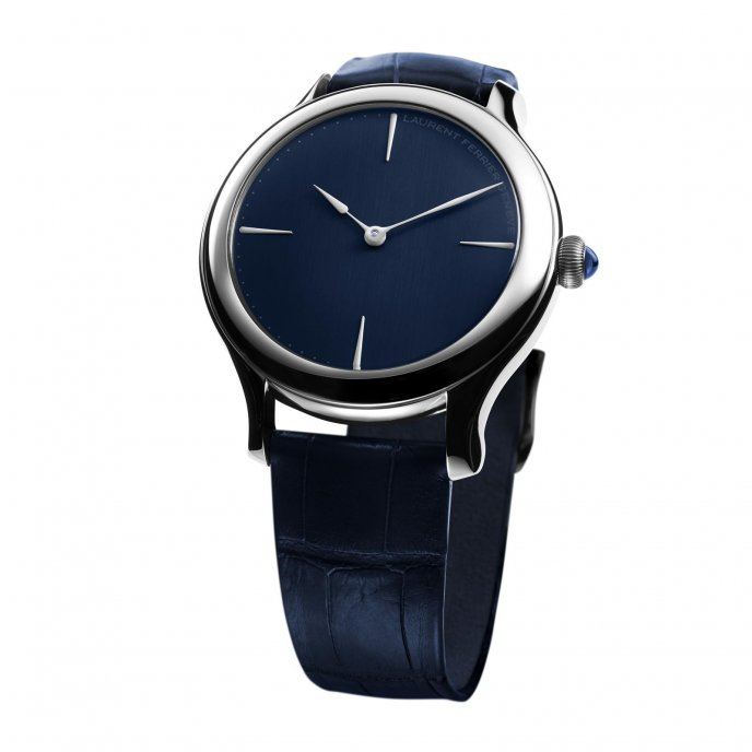 Laurent Ferrier Galet Micro Roto 39mm LCF011 G Watch Front View