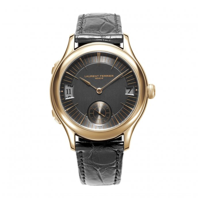 Laurent Ferrier Galet Traveller LCF007.R5.AR1 - watch face view