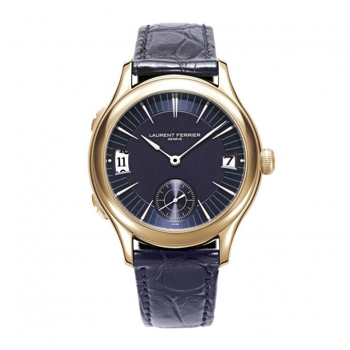 Laurent Ferrier Galet Traveller LCF007.R5.CW1 - watch face view