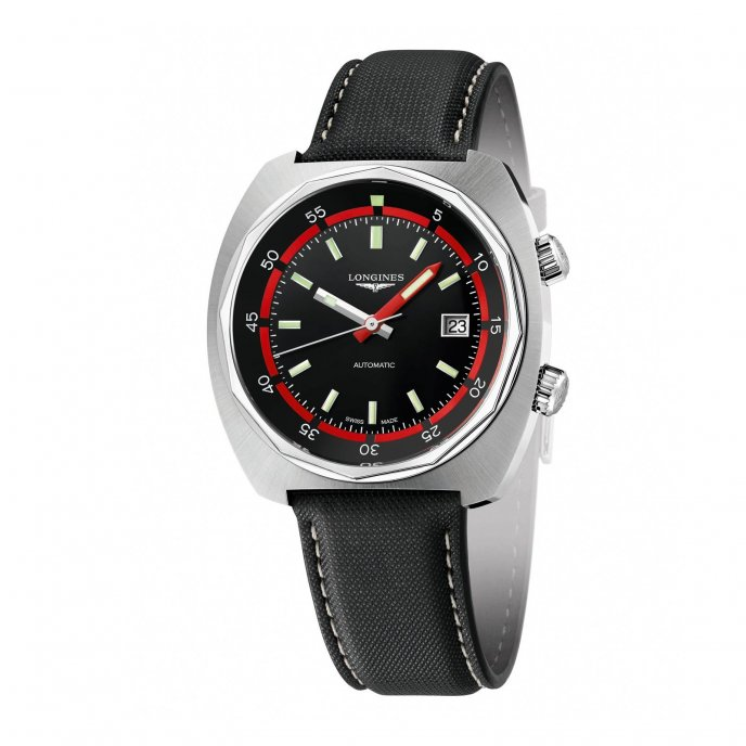 Longines Heritage Diver L2.795.4.52.0 Watch-face-view