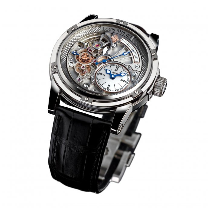 Louis Moinet Tempograph 20-Secondes LM-39.20.80 watch face view