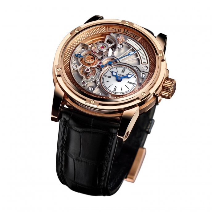 Louis Moinet Tempograph 20-Secondes LM-39.50.80 watch face view