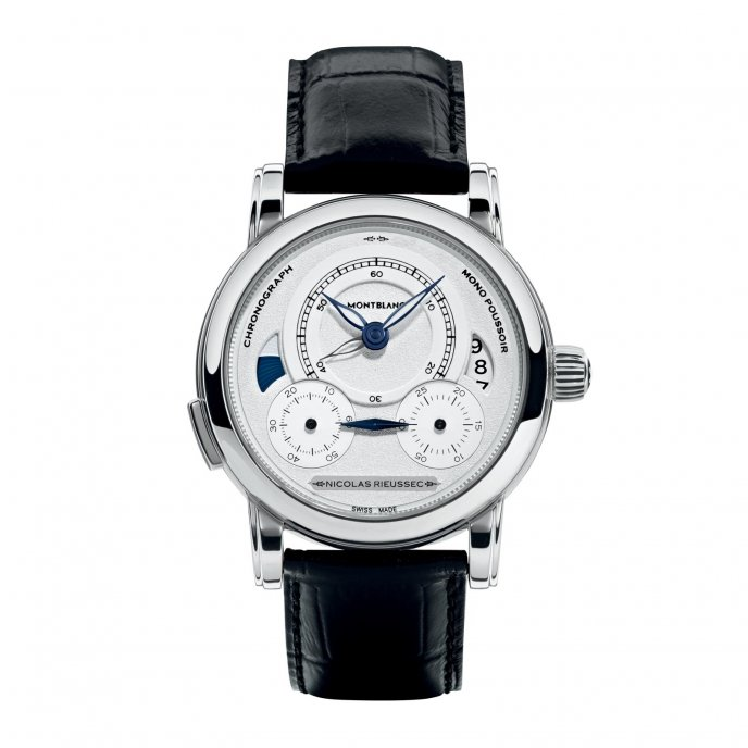 Montblanc Homage to Nicolas Rieussec 111012 - watch face view